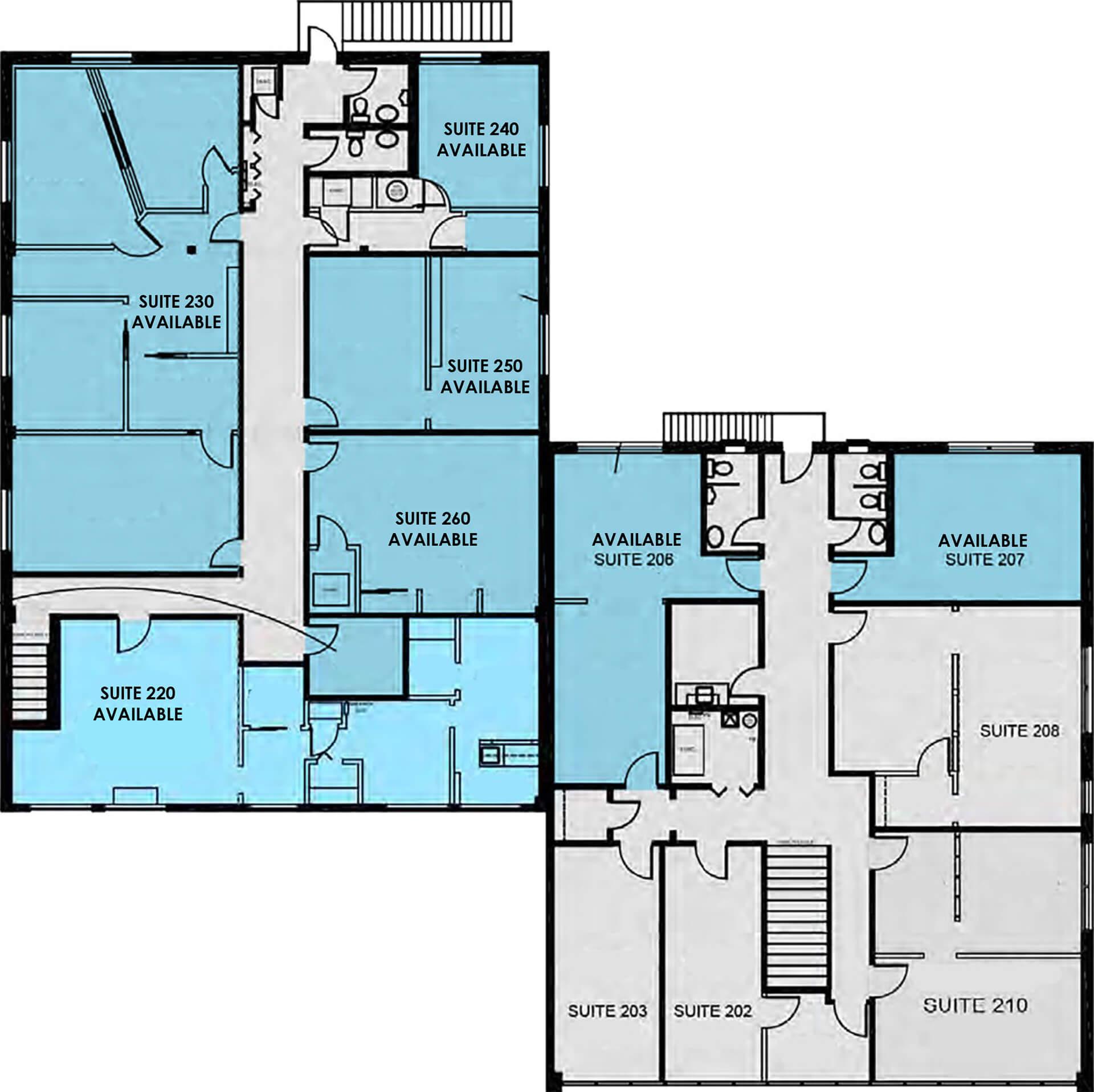 Floor Plan 629 W. 19th